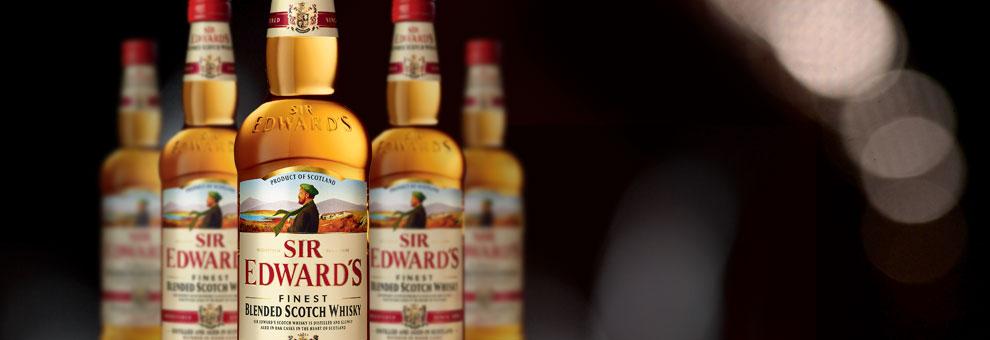 Las presentaciones del whisky escocés SIR EDWARD'S
