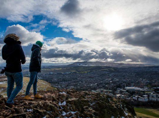 Arthur's seat, el mejor lugar para admirar Edimburgo