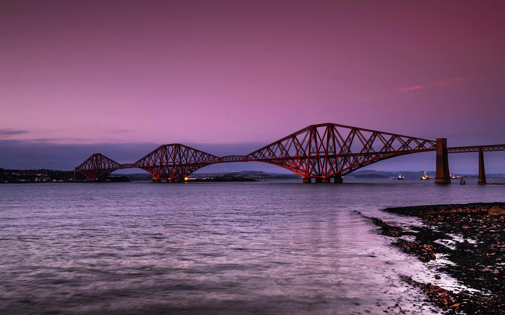 forth bridge escocia roadtrip sir edwards