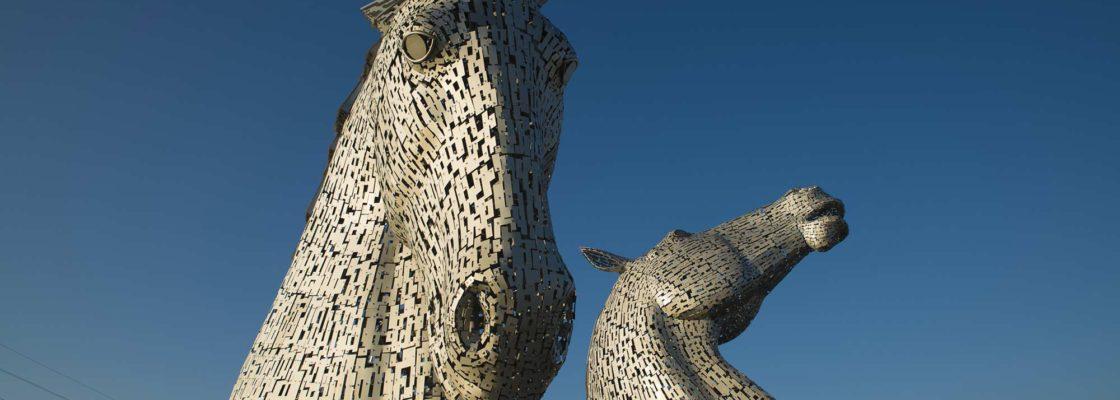 La leyenda de los Kelpies en Falkirk