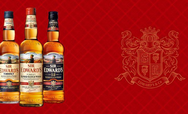 Sir edwards whiskies range