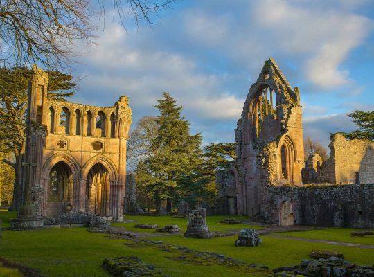 Dryburgh Abbey, la pacífica
