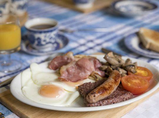 Esta mañana: un desayuno escocés