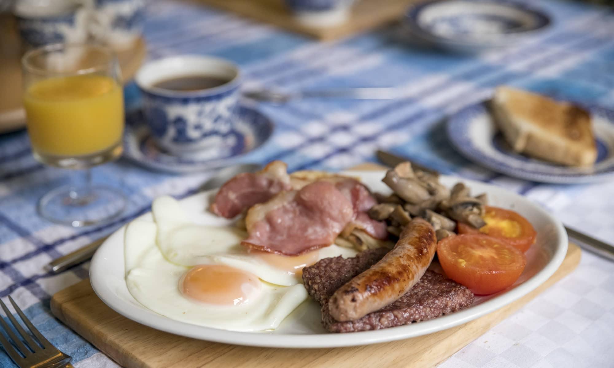esta manana un desayuno escoces