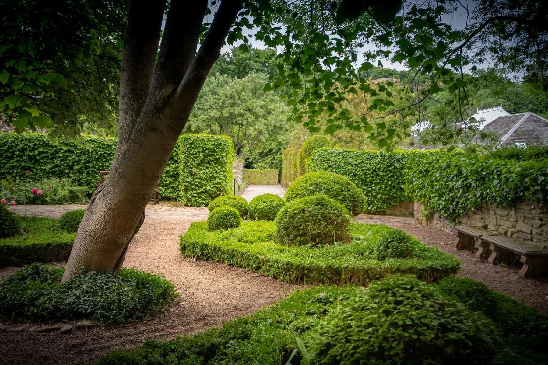 el jardín secreto de dunbar's close