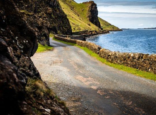 Mull, de camino hacia Loch Na Keal