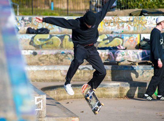 Glasgow, una vuelta por el skatepark